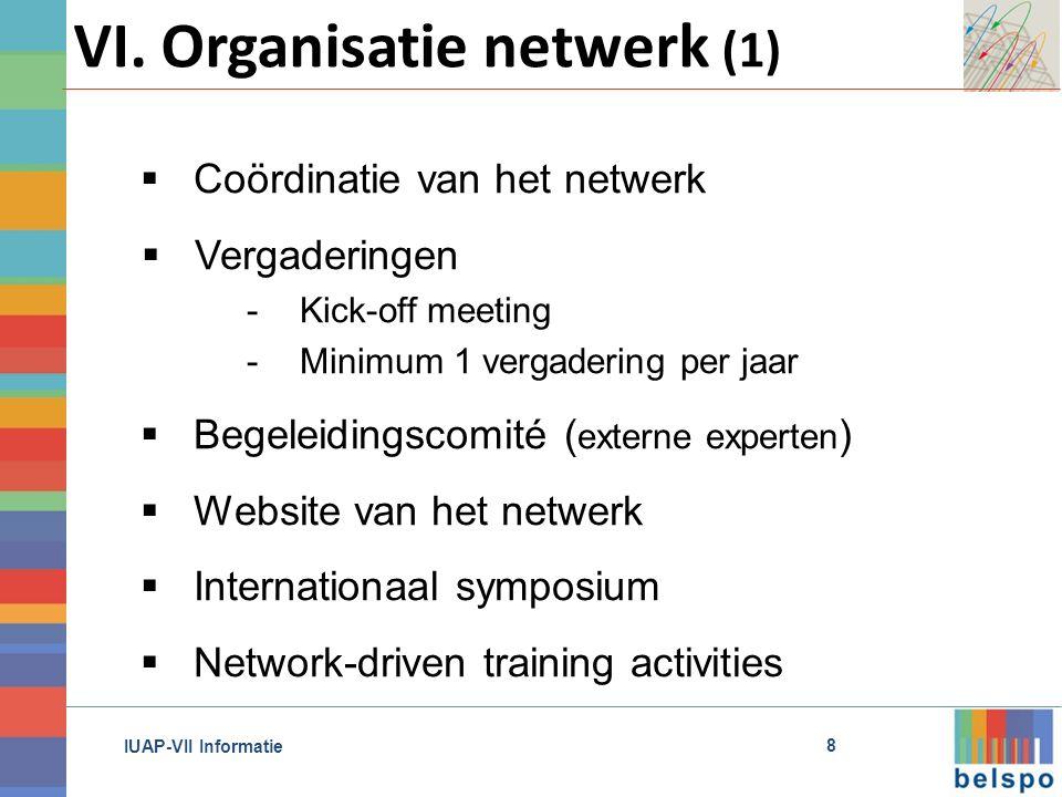 IUAP-VII Informatie VI.