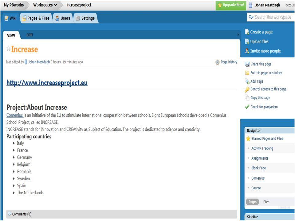 Onderzoekscompetenties en VOET-en 1 Onderzoekscompetenties Voorbeelden uit de klas Wiki's