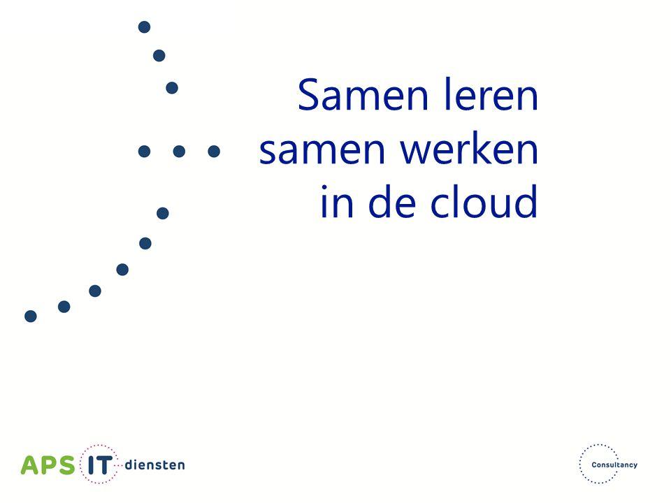 Samen leren samen werken in de cloud