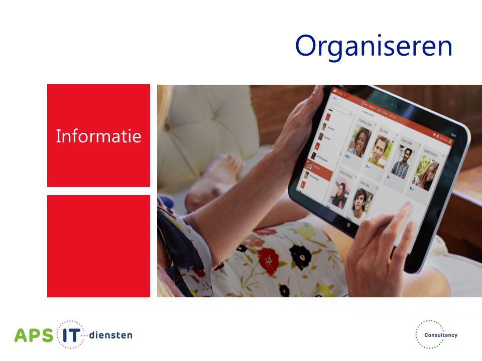 Organiseren Informatie