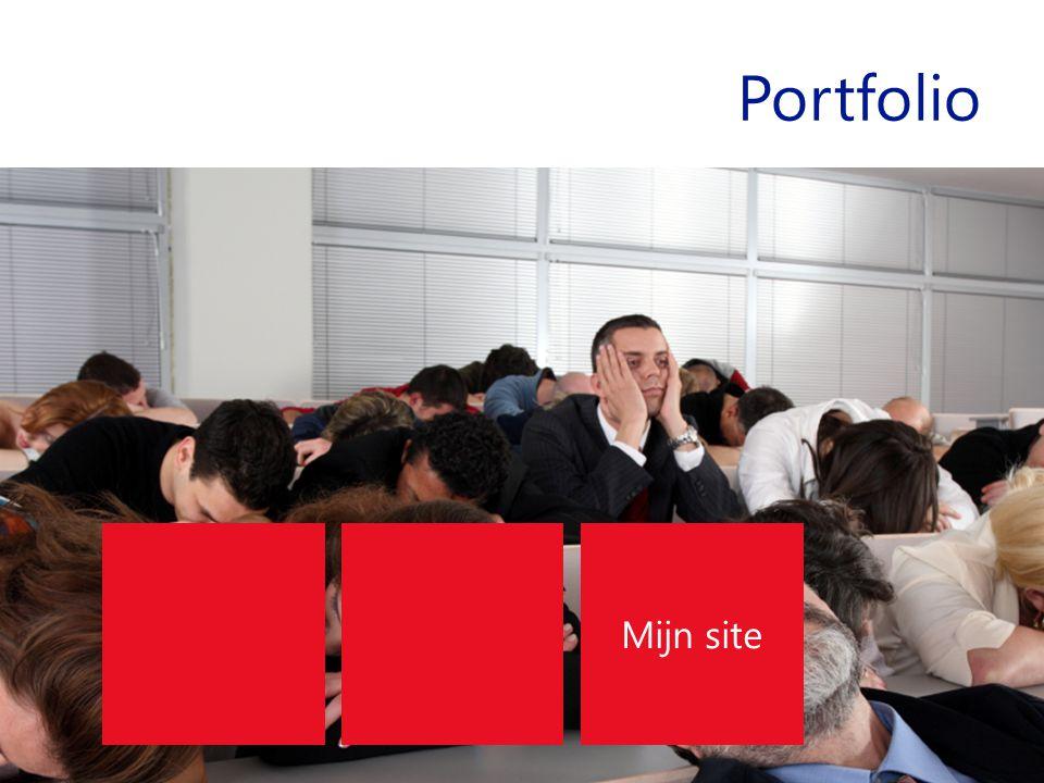 Portfolio Mijn site