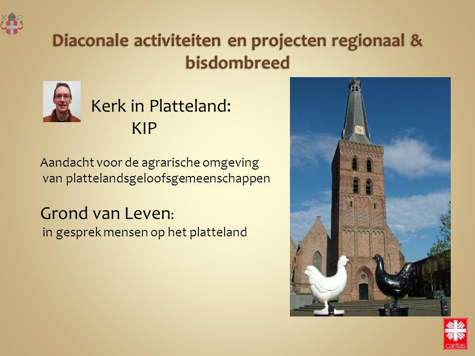 Kerk in Platteland: KIP Aandacht voor de agrarische omgeving van plattelandsgeloofsgemeenschappen Grond van Leven : in gesprek mensen op het plattelan