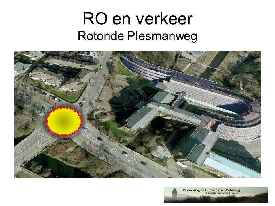 RO en verkeer Rotonde Plesmanweg