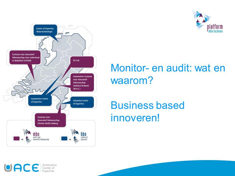Monitor- en audit: wat en waarom? Business based innoveren!