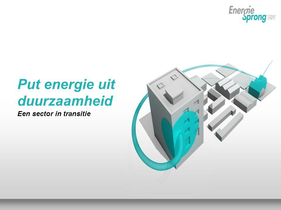 <<VORIGEVOLGENDETITEL VAN PRESENTATIE17 DECEMBER 2010 Put energie uit duurzaamheid Een sector in transitie