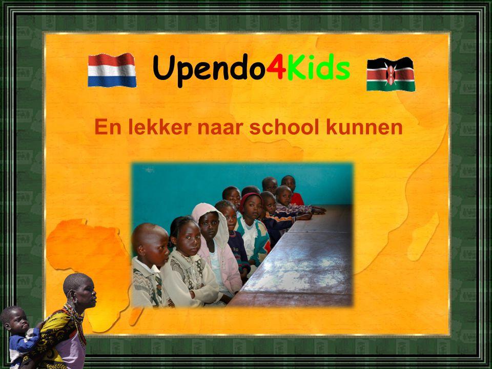 Upendo4Kids En lekker naar school kunnen