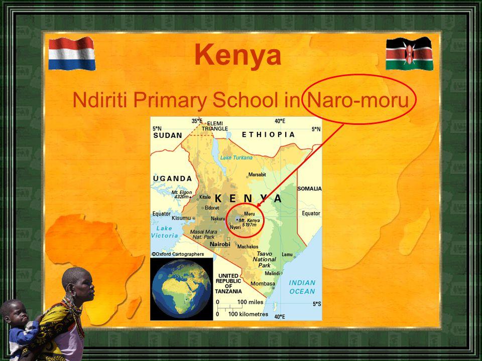 Ndiriti Primary School in Naro-moru Kenya