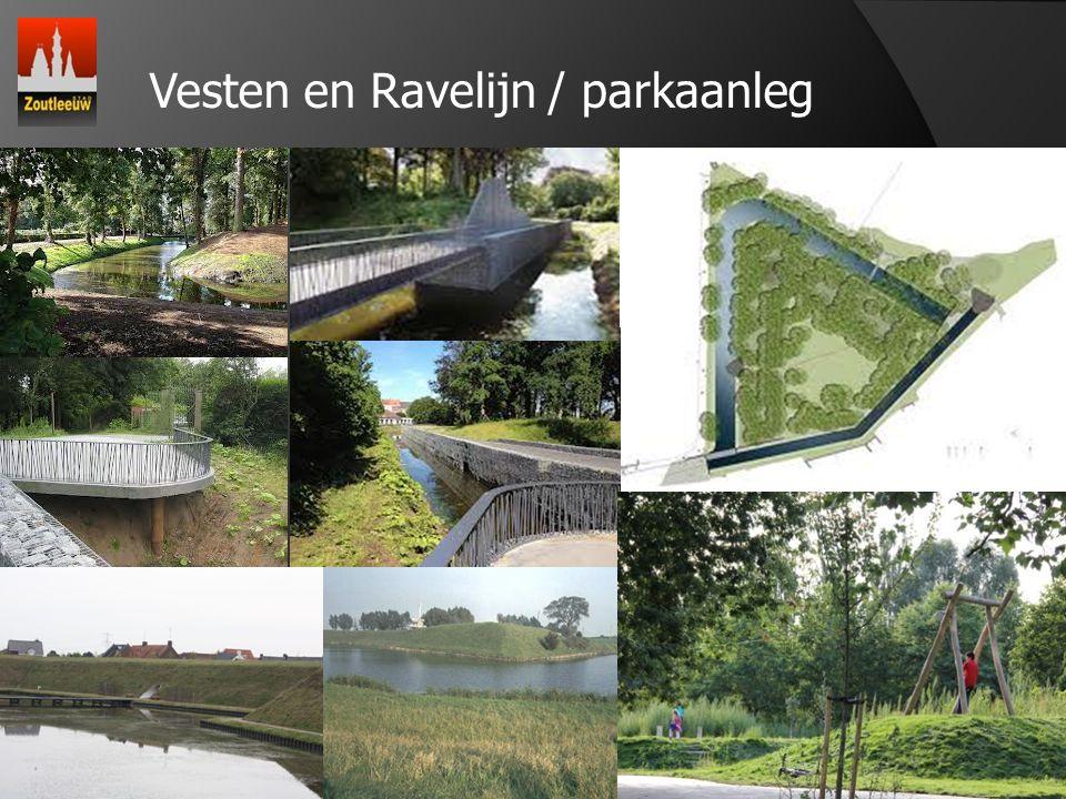 4 Vesten en Ravelijn / parkaanleg