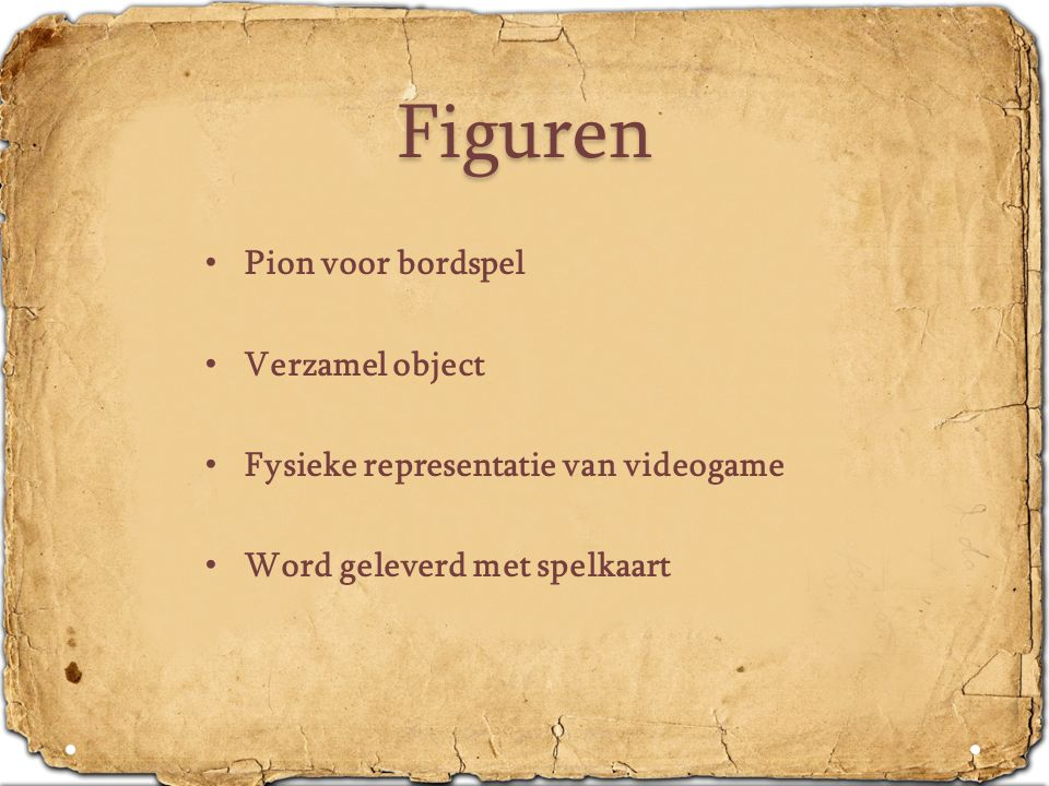 Figuren • Pion voor bordspel • Verzamel object • Fysieke representatie van videogame • Word geleverd met spelkaart