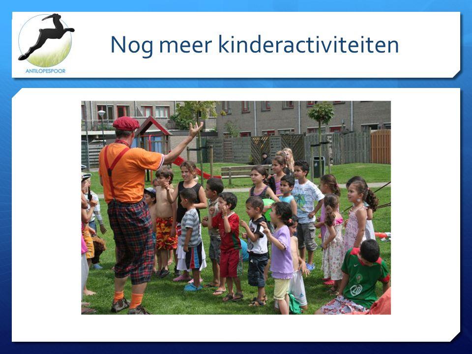 Nog meer kinderactiviteiten