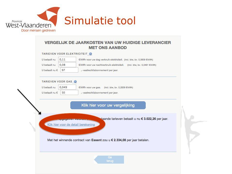 Simulatie tool