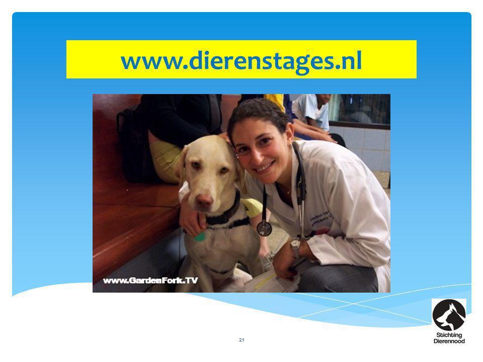 21 www.dierenstages.nl