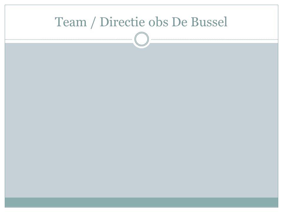 Team / Directie obs De Bussel