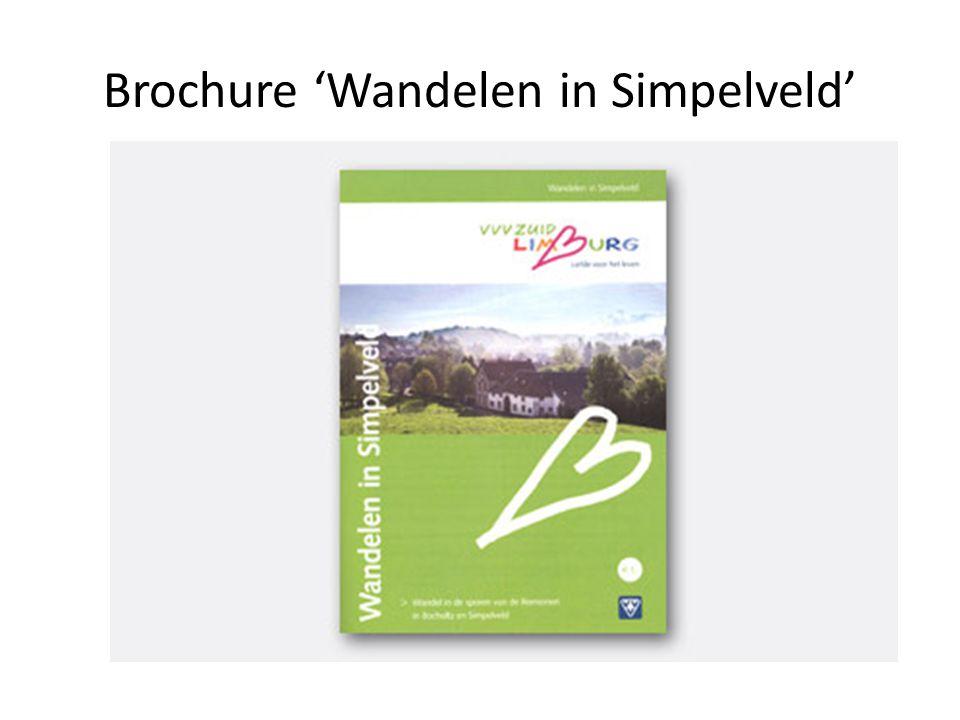 Brochure 'Wandelen in Simpelveld'