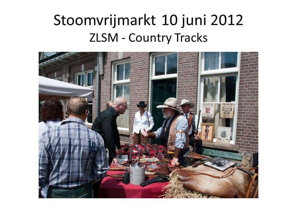 Stoomvrijmarkt 10 juni 2012 ZLSM - Country Tracks