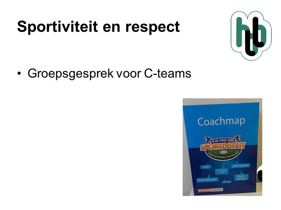 Sportiviteit en respect Project: In Veilige handen Doel: Hoe als club om te gaan met (seksueel) ongewenst gedrag.