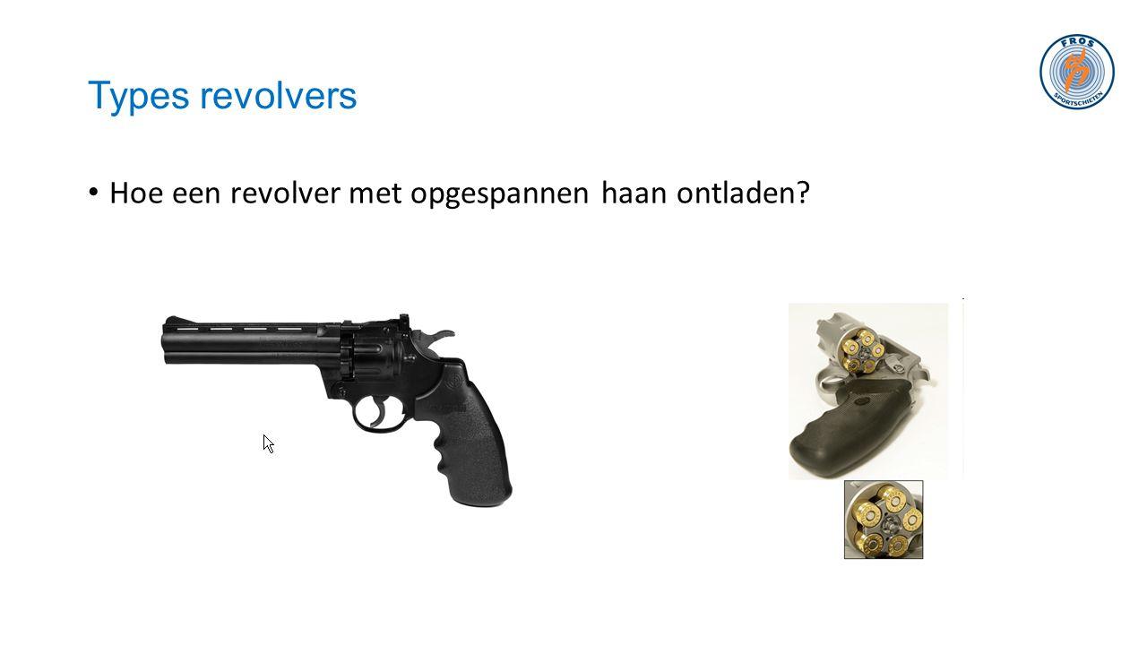 Types revolvers • Hoe een revolver met opgespannen haan ontladen?