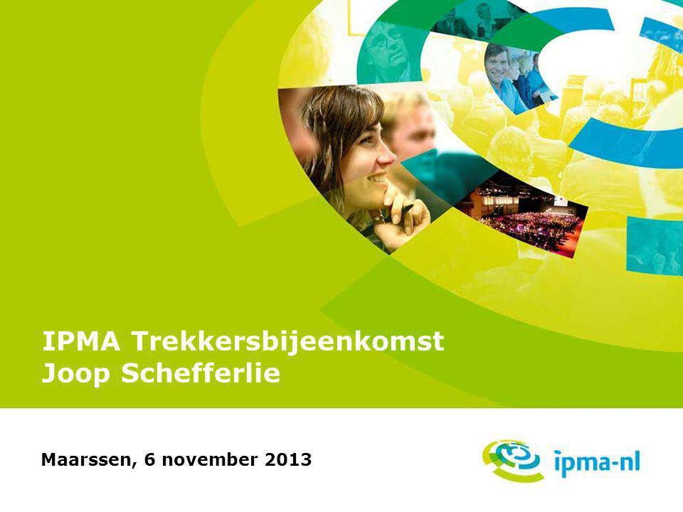 IPMA Trekkersbijeenkomst Joop Schefferlie Maarssen, 6 november 2013