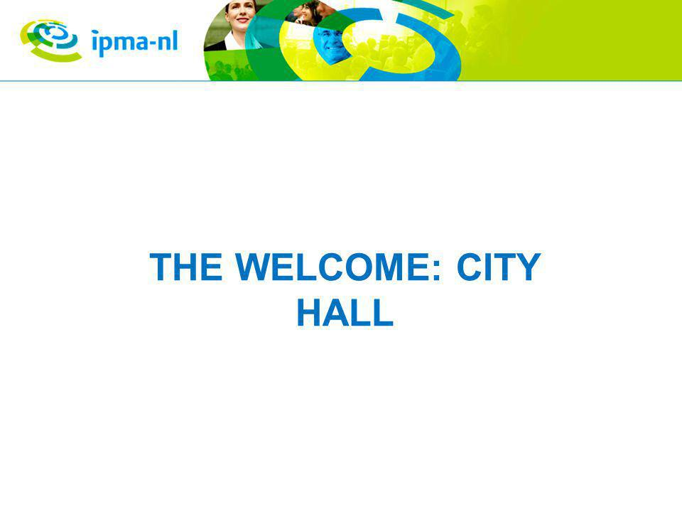 THE WELCOME: CITY HALL