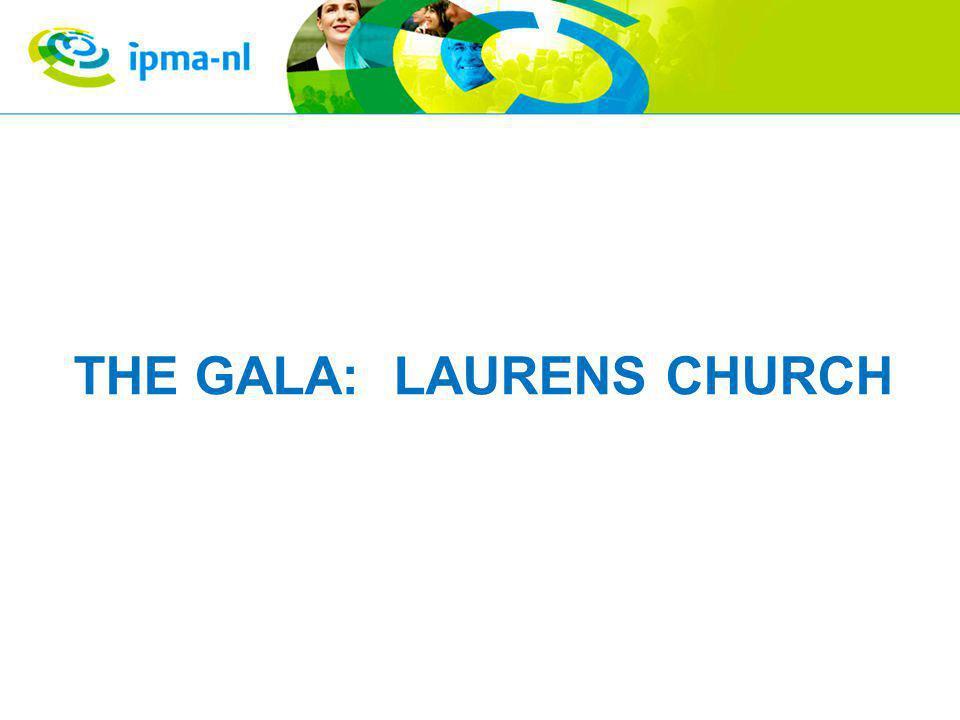 THE GALA: LAURENS CHURCH