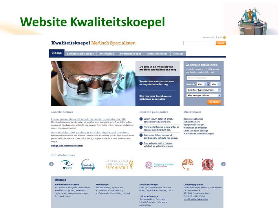 Website Kwaliteitskoepel