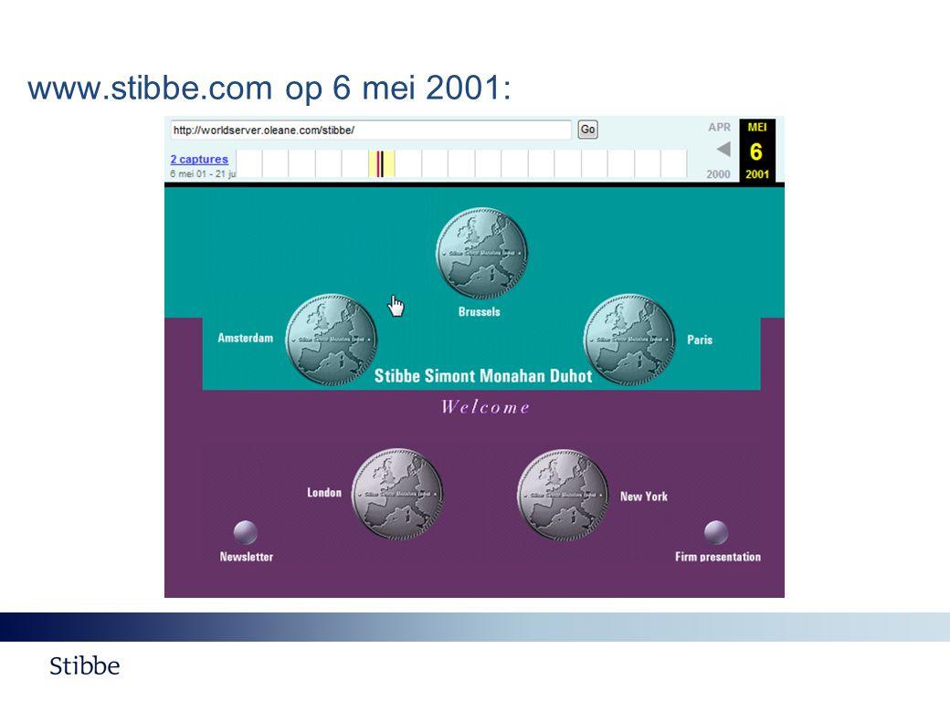 www.stibbe.com op 6 mei 2001: