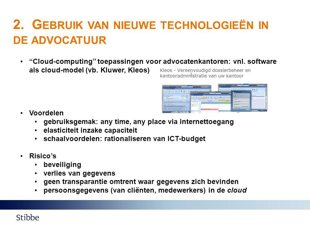 C ONTACTGEGEVENS Erik Valgaeren Partner TMT T +32 2 533 53 51 F +32 2 533 51 15 E erik.valgaeren@stibbe.com