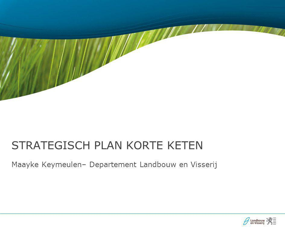 2 ○ Inleiding - wat is de korte keten - basisprincipes van de korte keten ○ Voordelen van korte keten ○ Strategisch plan korte keten - opstart - inhoud - uitvoering
