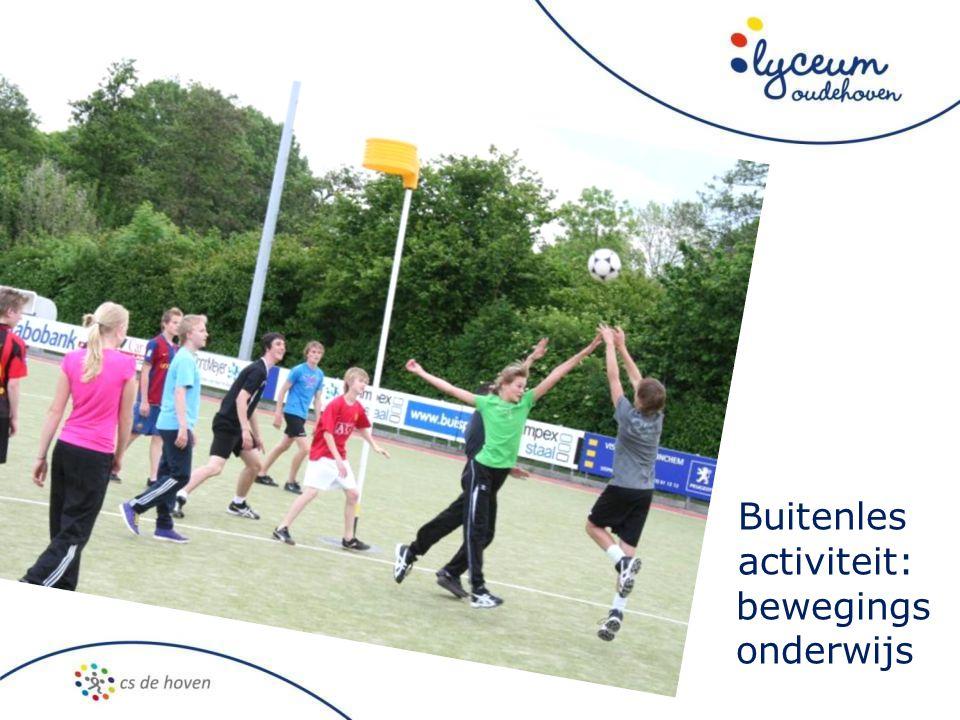 Buitenles activiteit: bewegings onderwijs