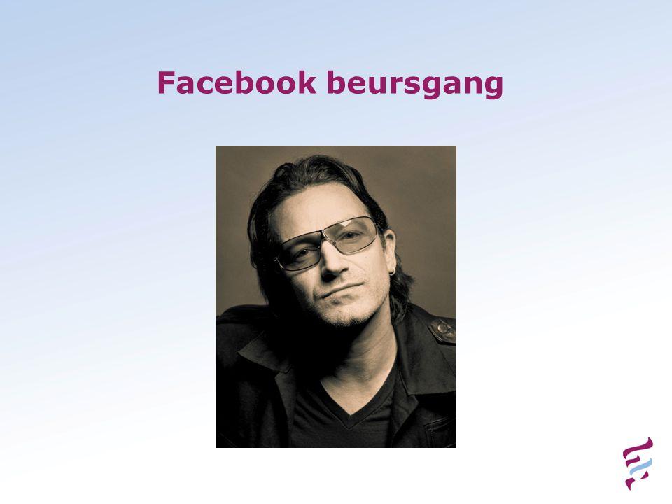 Facebook beursgang