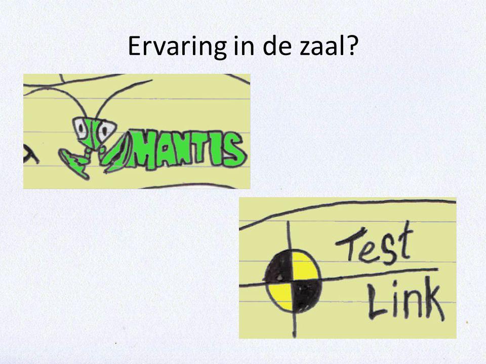 9:30 – 10:30 • Testmanagement • Pauze 11:00-11:30 10:30 – 13:00 • Installeren Mantis en Testlink • Inhoudelijk