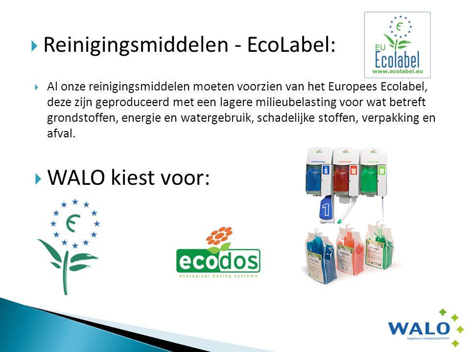  Reinigingsmachines – Ec-H2O  Met het Tennant ec-H2O systeem in de schrobzuigmachines, wordt water geactiveerd tot een krachtig reinigingsmiddel.