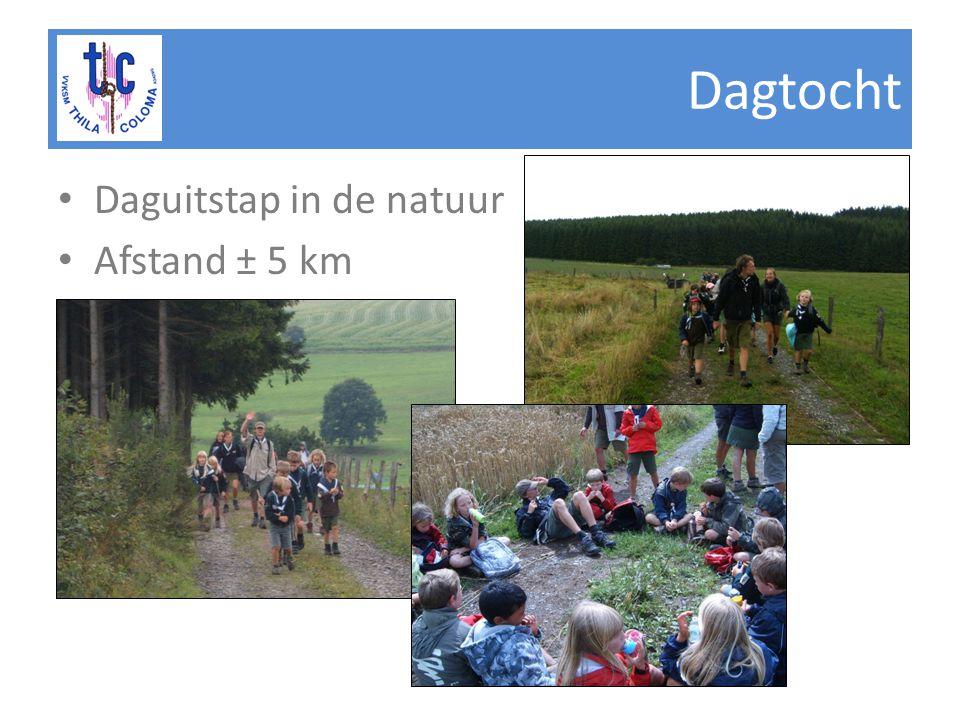 Dagtocht • Daguitstap in de natuur • Afstand ± 5 km