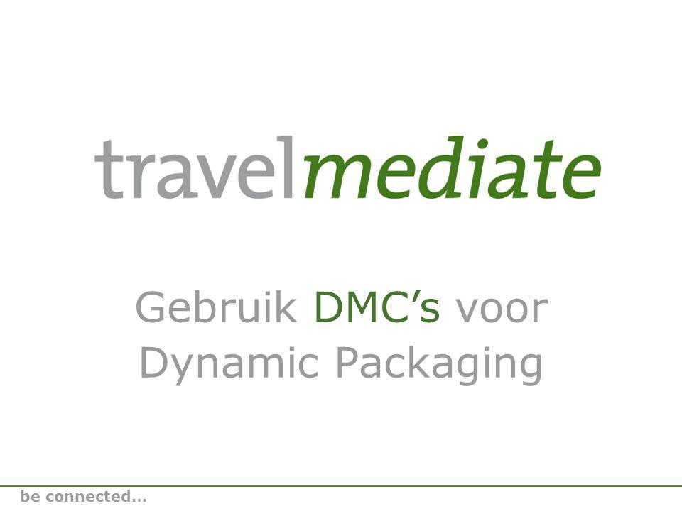 Wie zijn wij Raymon HoningsJoost Ligthart Ons bureau • Marketing- en sales bureau voor buitenlandse DMC's (Destination Management Companies) • Intermediair voor uw reisbehoeften be connected…