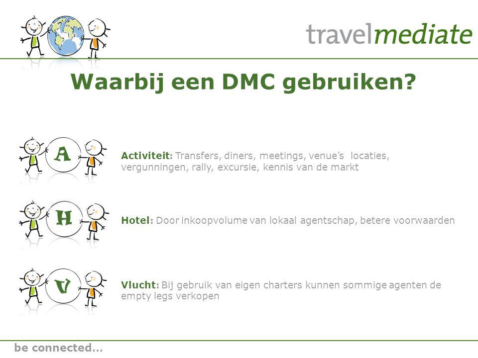 Waarbij een DMC gebruiken.
