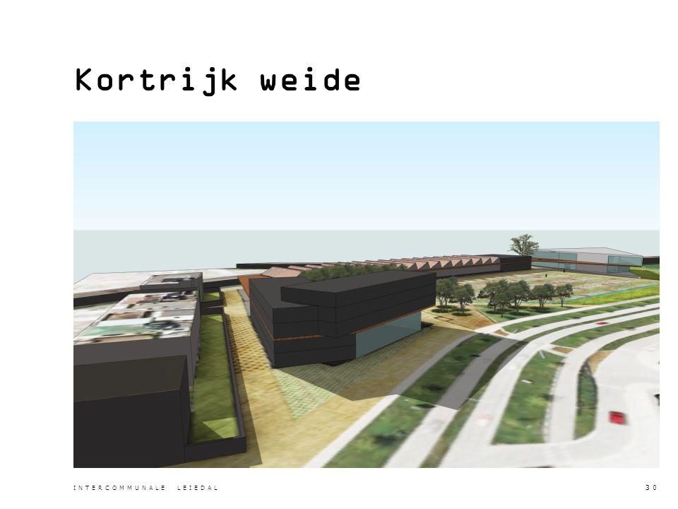 Kortrijk weide INTERCOMMUNALE LEIEDAL 30