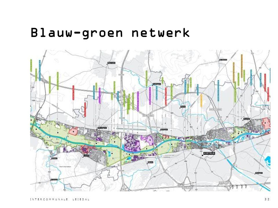Blauw-groen netwerk INTERCOMMUNALE LEIEDAL 32