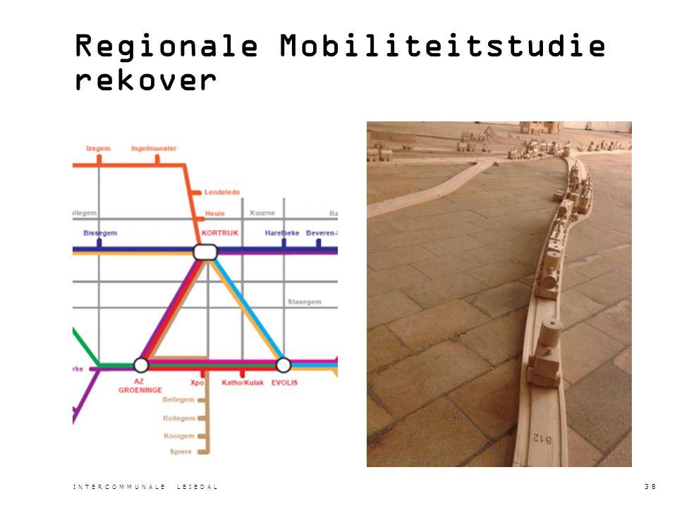 Regionale Mobiliteitstudie rekover INTERCOMMUNALE LEIEDAL 38