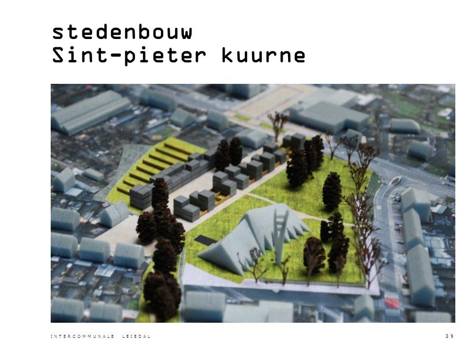 stedenbouw Sint-pieter kuurne INTERCOMMUNALE LEIEDAL 39