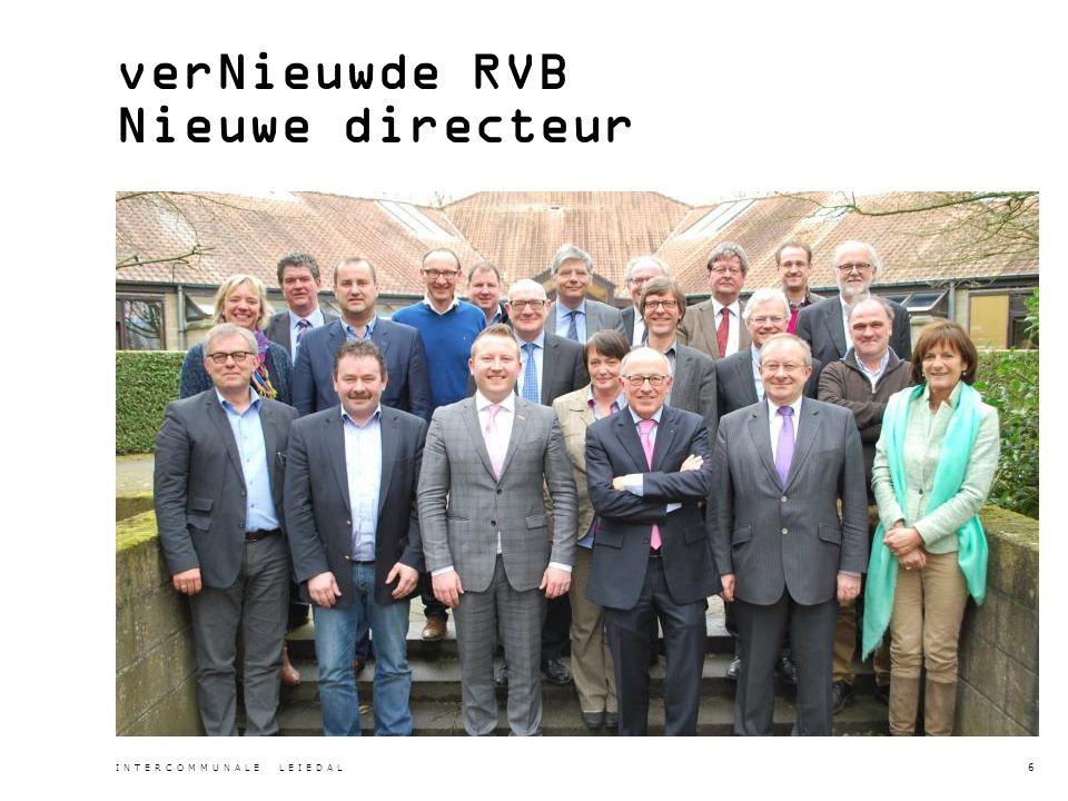 verNieuwde RVB Nieuwe directeur INTERCOMMUNALE LEIEDAL 6