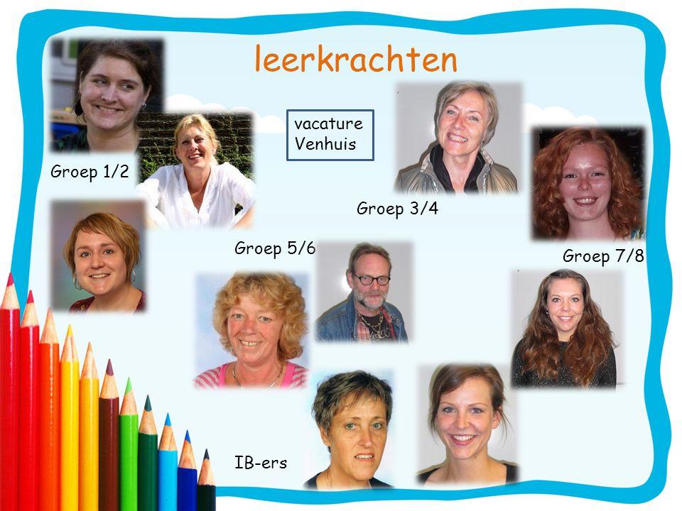 leerkrachten Groep 1/2 Groep 3/4 Groep 5/6 Groep 7/8 IB-ers vacature Venhuis