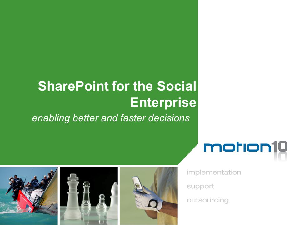SharePoint: Social Elements (1)