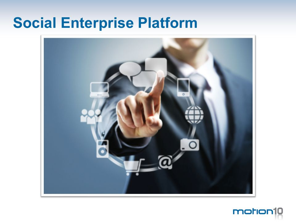 Implementation: 4Cs matrix connectioncollaboration communication cooperation formality interaction Source: Enterprise 2.0 by Niall Cook • Wiki • Discussion • Social Search • Blogs • Instant Messaging • Social Pressence • Social networking • Community Site • Mash up