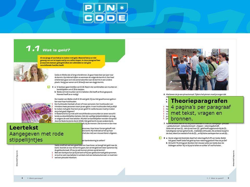 Theorieparagrafen 4 pagina's per paragraaf met tekst, vragen en bronnen. Theorieparagrafen 4 pagina's per paragraaf met tekst, vragen en bronnen. Leer
