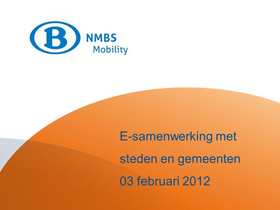 Destination mieux E-samenwerking met steden en gemeenten 03 februari 2012