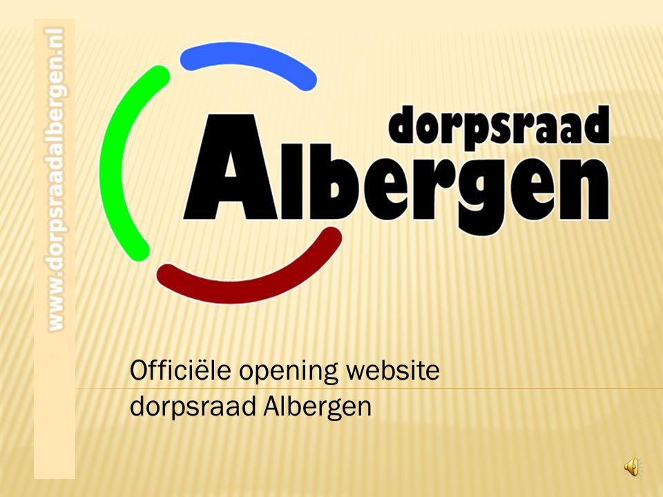 Officiële opening website dorpsraad Albergen