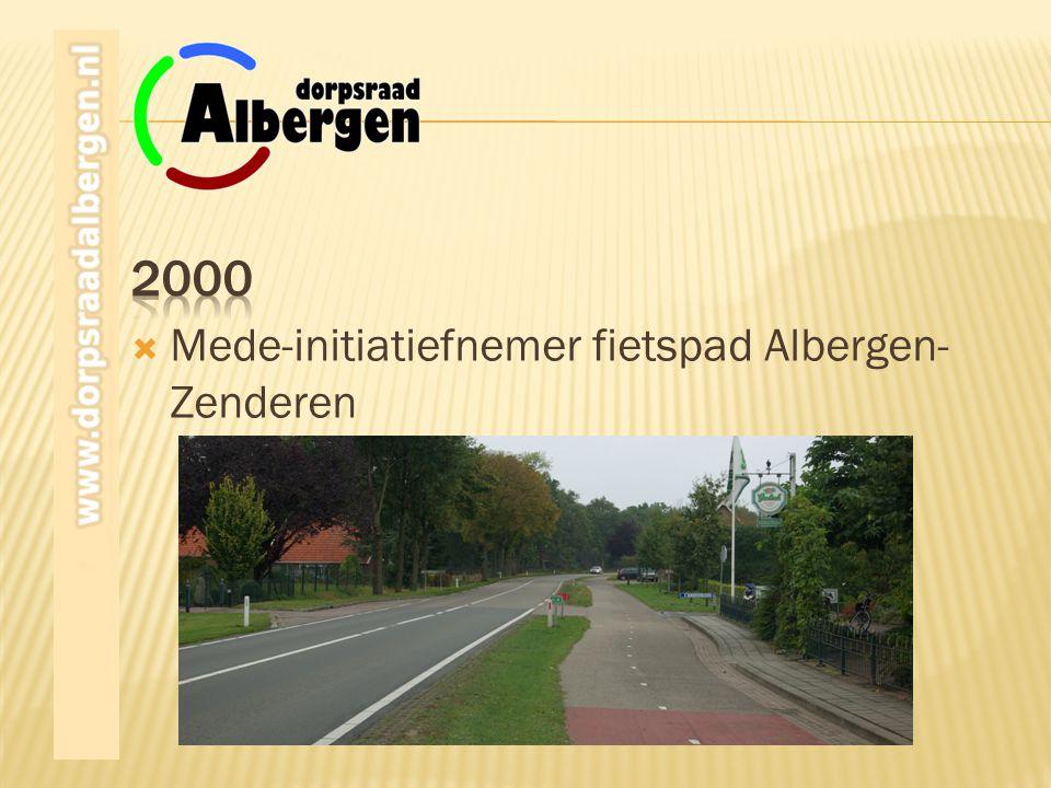 Mede-initiatiefnemer fietspad Albergen- Zenderen