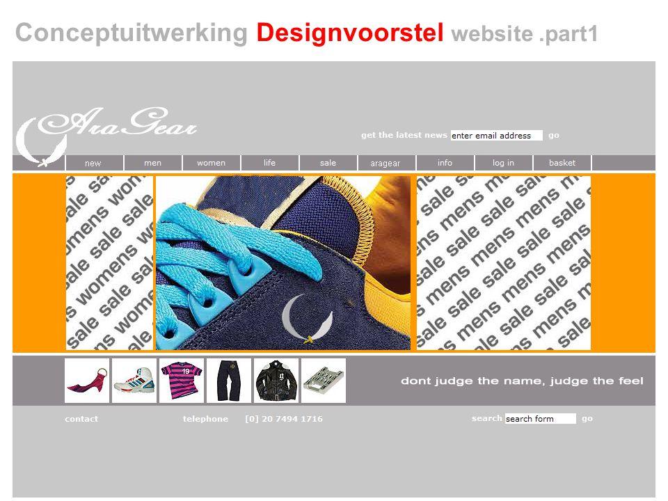 Conceptuitwerking Designvoorstel website.part1