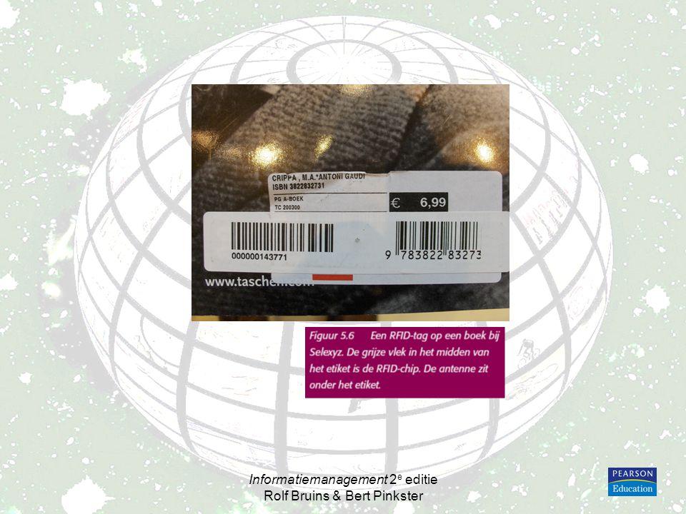 Informatiemanagement 2 e editie Rolf Bruins & Bert Pinkster Figuur 5.18Palm Treo 650, een smartphone met toetsenbord