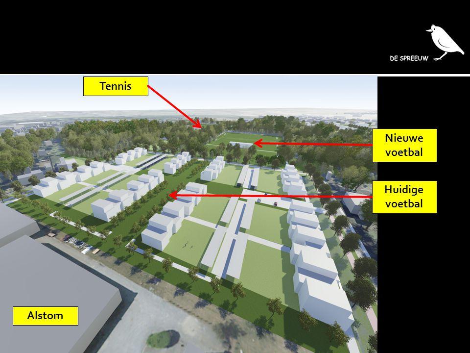 Alstom Huidige voetbal Nieuwe voetbal Tennis